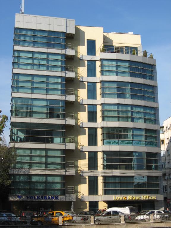Louis Blanc office building Victoriei